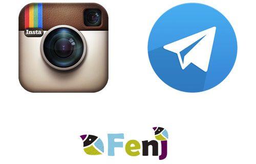 ارسال خودکار عکس و متن بر اساس هشتگ از اینستاگرام به تلگرام (اپدیت بهمن ۹۴)